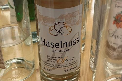 Haselnuss Spirituose